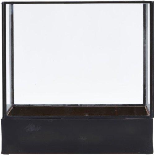 På billedet ser du variationen Displayboks, Plant fra brandet House Doctor i en størrelse H: 30 cm. B: 30 cm. L: 21 cm. i farven Sort
