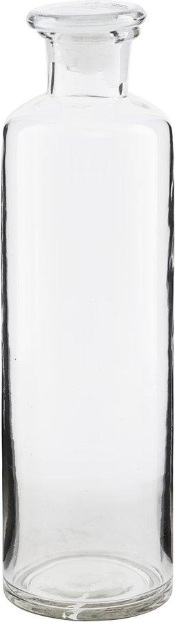 På billedet ser du variationen Flaske M. Låg, Farma, 1100 Ml fra brandet House Doctor i en størrelse Ø: 9 cm. H: 32 cm. i farven Klar
