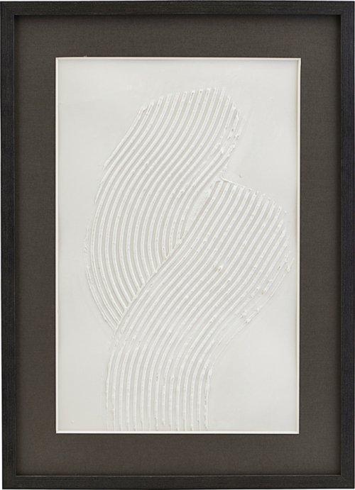 På billedet ser du variationen Illustration m. ramme, Vernis fra brandet House Doctor i en størrelse H: 1,5 cm. B: 40 cm. L: 55 cm. i farven Hvid/1