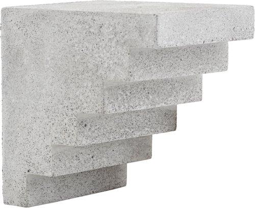 På billedet ser du variationen Kunstværk, Stairs fra brandet House Doctor i en størrelse H: 15 cm. B: 12 cm. L: 15 cm. i farven Grå