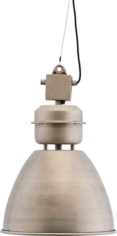 På billedet ser du variationen Hængelampe, Volumen fra brandet House Doctor i en størrelse Ø: 36 cm. H: 52 cm. i farven Gunmetal