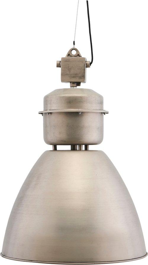 På billedet ser du variationen Hængelampe, Volumen fra brandet House Doctor i en størrelse Ø: 54 cm. H: 60 cm. i farven Gunmetal