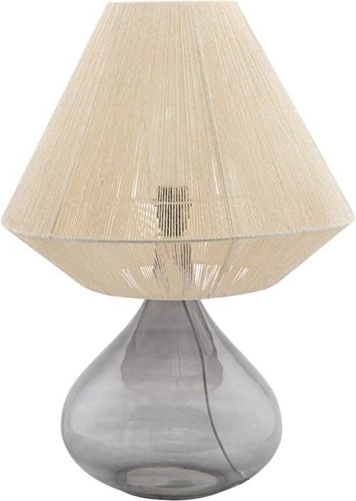 På billedet ser du variationen Lampeskærm, String, Version 2 fra brandet House Doctor i en størrelse Ø: 41 cm. H: 32 cm. i farven Beige
