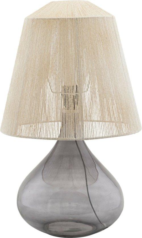 På billedet ser du variationen Lampeskærm, String fra brandet House Doctor i en størrelse Ø: 34 cm. H: 31 cm. i farven Beige