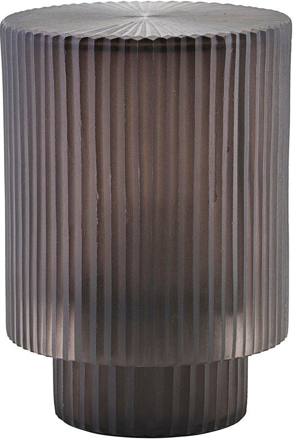 Lanterne, Pedra by House Doctor (Ø: 14 cm. H: 19,5 cm., Sort)