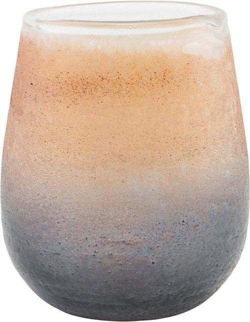På billedet ser du variationen Lysestage, Moon fra brandet House Doctor i en størrelse H: 10 cm. i farven Brun