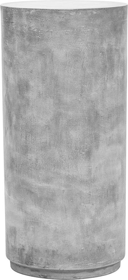På billedet ser du variationen Piedestal, Fifty fra brandet House Doctor i en størrelse Ø: 36 cm. H: 76 cm. i farven Grå