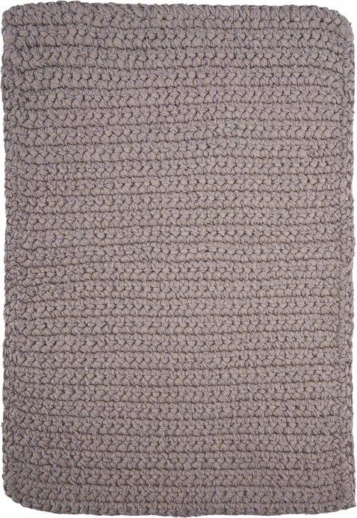 På billedet ser du variationen Tæppe, Crochet, Square fra brandet House Doctor i en størrelse B: 60 cm. L: 90 cm. i farven Grå