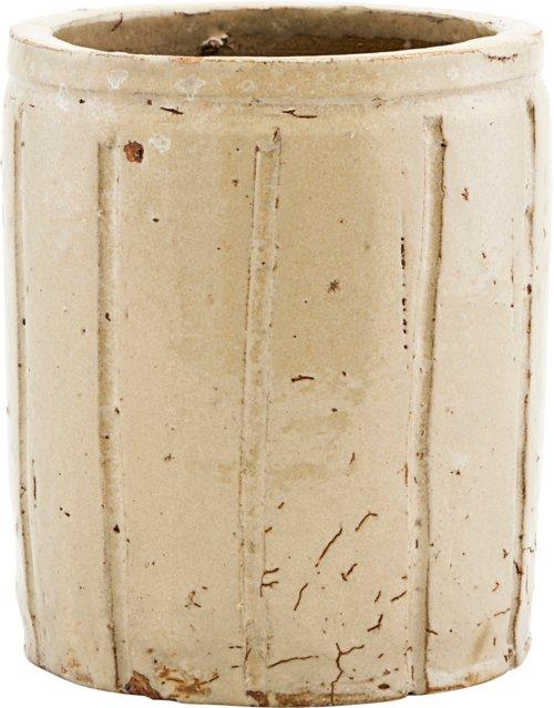 På billedet ser du variationen Urtepotte, Julian fra brandet House Doctor i en størrelse Ø: 12 cm. H: 14 cm. i farven Beige