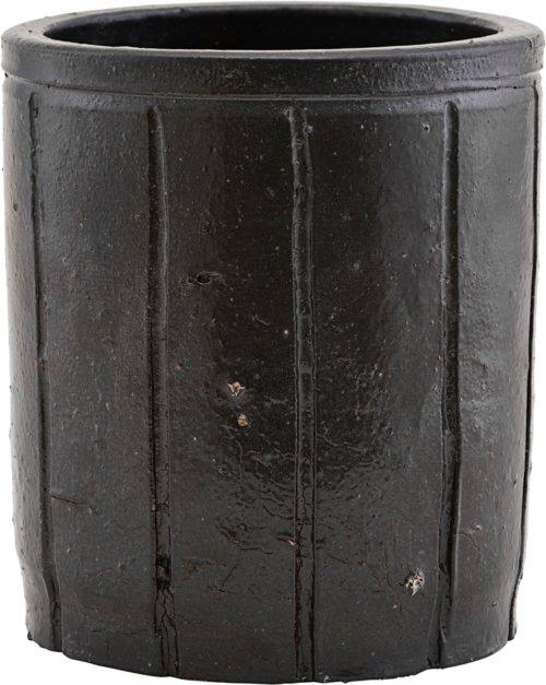 På billedet ser du variationen fra brandet House Doctor i en størrelse Ø: 15 cm. H: 17 cm. i farven Brun