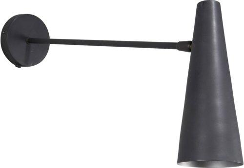 På billedet ser du variationen Væglampe, Precise fra brandet House Doctor i en størrelse L: 47 cm. i farven Mat Sort