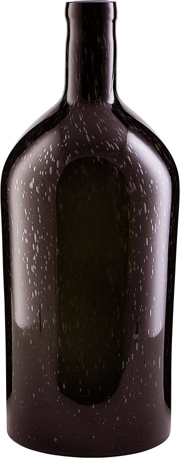På billedet ser du variationen Vase, Bottle fra brandet House Doctor i en størrelse Ø: 19 cm. H: 45 cm. i farven Mørkebrun