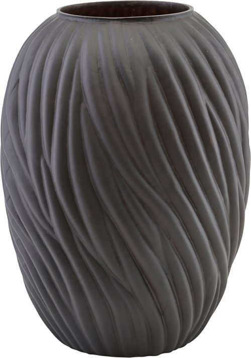 På billedet ser du variationen Vase, Noa fra brandet House Doctor i en størrelse Ø: 265 cm. H: 36,5 cm. i farven Mørkebrun