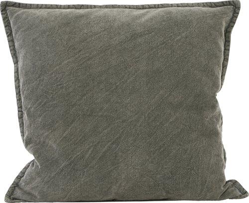 På billedet ser du variationen Pudebetræk, Cur fra brandet House Doctor i en størrelse B: 50 cm. L: 50 cm. i farven Mørkegrå