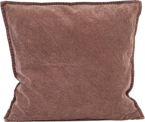 På billedet ser du variationen Pudebetræk, Cur fra brandet House Doctor i en størrelse B: 50 cm. L: 50 cm. i farven Rød/Brun