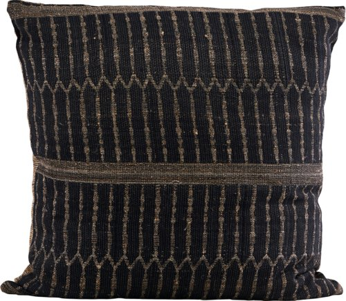 På billedet ser du variationen Pudebetræk, Ritika 1 fra brandet House Doctor i en størrelse B: 60 cm. L: 60 cm. i farven Sort