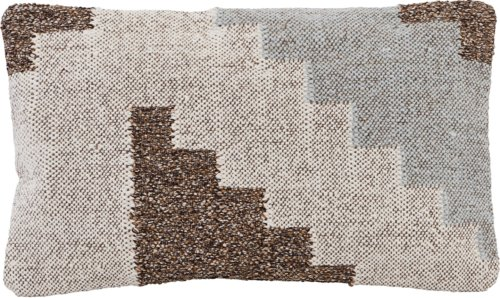 På billedet ser du variationen Pudebetræk, Sanda fra brandet House Doctor i en størrelse B: 30 cm. L: 50 cm. i farven Grå