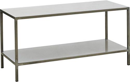 På billedet ser du variationen Sidebord, Orto fra brandet House Doctor i en størrelse H: 42 cm. B: 35 cm. L: 85 cm. i farven Jern