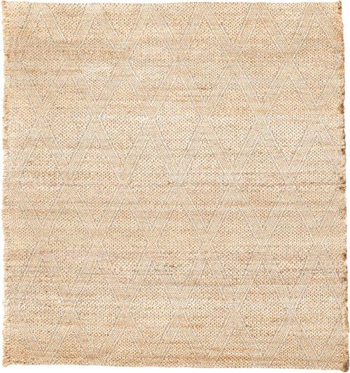 På billedet ser du variationen Tæppe, Mara fra brandet House Doctor i en størrelse B: 180 cm. L: 180 cm. i farven Nude