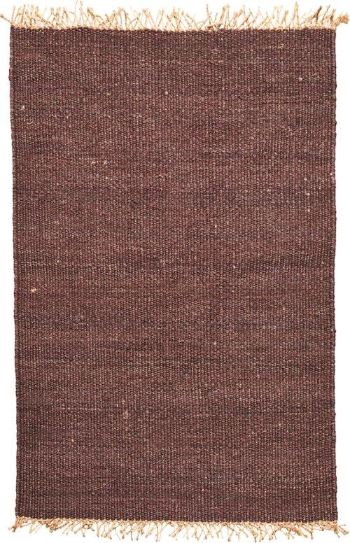 På billedet ser du variationen Tæppe, Rama fra brandet House Doctor i en størrelse B: 140 cm. L: 200 cm. i farven Brun