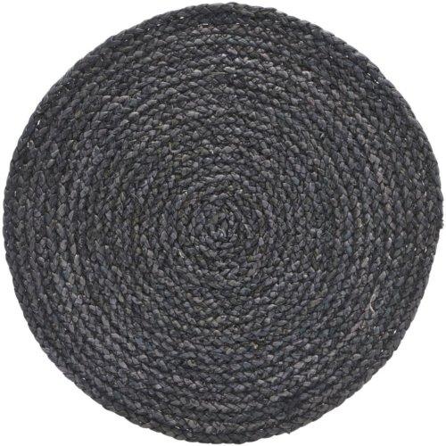 På billedet ser du variationen Dækkeserviet, Circle fra brandet House Doctor i en størrelse Ø: 38 cm. i farven Grå/Blå