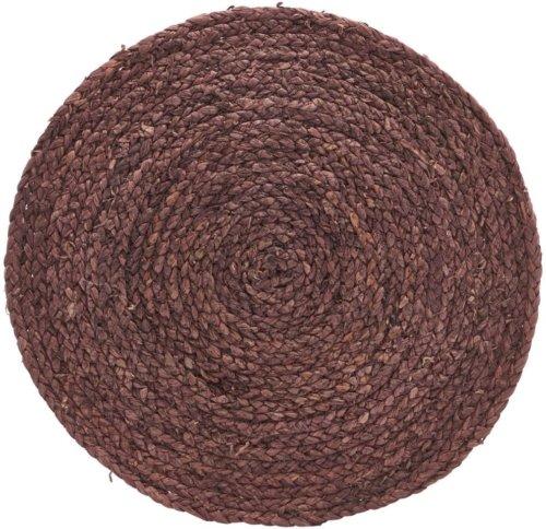 På billedet ser du variationen Dækkeserviet, Circle fra brandet House Doctor i en størrelse Ø: 38 cm. i farven Brændt henna