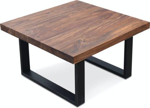 På billedet ser du variationen Sofabord, Understel, HayFay-S fra brandet OBUZI i en størrelse H: 45 cm. B: 80 cm. L: 80 cm. i farven Mørk Natur/Sort