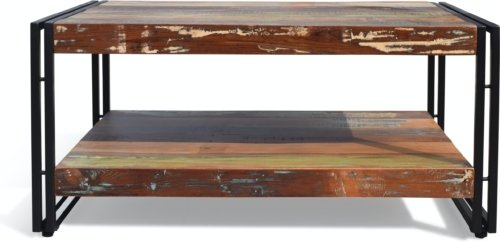 På billedet ser du variationen Sofabord, Christiania HipStack fra brandet OBUZI i en størrelse H: 45 cm. B: 100 cm. L: 70 cm. i farven Multi