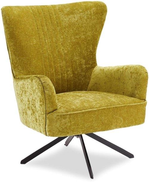 På billedet ser du variationen Halton, Loungestol, Stof fra brandet Raymond & Hallmark i en størrelse H: 93 cm. B: 75 cm. i farven Grøn