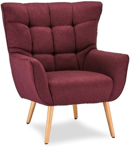 På billedet ser du variationen Wigtown, Loungestol, Stof fra brandet Raymond & Hallmark i en størrelse H: 97 cm. B: 83 cm. i farven Rød