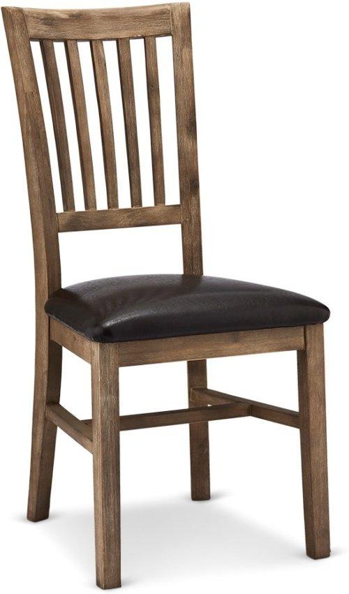 På billedet ser du et stemningsbillede (#5) fra Boston, Spisebordsstol, Akacietræ fra brandet Raymond & Hallmark i en størrelse H: 102 cm. B: 47 cm. i farven Brun