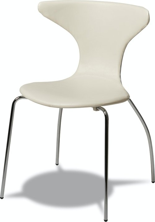 På billedet ser du et stemningsbillede (#1) fra Ravenglass, Spisebordsstol fra brandet Raymond & Hallmark i en størrelse H: 86 cm. B: 56 cm. i farven Hvid