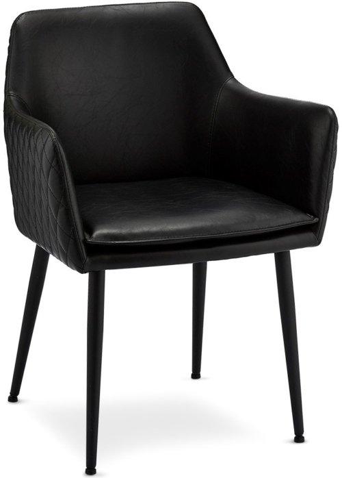 På billedet ser du et stemningsbillede (#5) fra Waterside, Spisebordsstol fra brandet Raymond & Hallmark i en størrelse H: 84 cm. B: 62 cm. i farven Sort