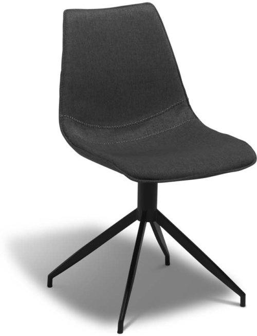 På billedet ser du et stemningsbillede (#6) fra Montrose, Spisebordsstol, Stof fra brandet Raymond & Hallmark i en størrelse H: 85 cm. B: 48 cm. i farven Grå