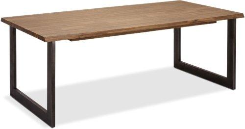 På billedet ser du et stemningsbillede (#7) fra Straiton, Spisebord, Akacietræ fra brandet Raymond & Hallmark i en størrelse H: 75 cm. B: 180 cm. i farven Brun