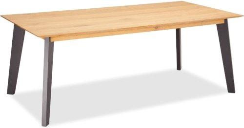 På billedet ser du et stemningsbillede (#5) fra Eastgate, Spisebord, Egetræ fra brandet Raymond & Hallmark i en størrelse H: 75 cm. B: 180 cm. i farven Natur/Grå