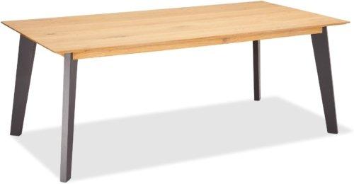På billedet ser du variationen Eastgate, Spisebord, Egetræ fra brandet Raymond & Hallmark i en størrelse H: 75 cm. B: 300 cm. i farven Natur/Grå