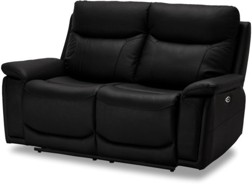På billedet ser du et stemningsbillede (#11) fra Stirling, 2 personers sofa, Læder fra brandet Raymond & Hallmark i en størrelse H: 100 cm. B: 166 cm. i farven Sort