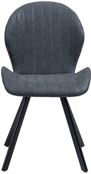 På billedet ser du variationen Kira, Spisebordsstol, PU læder fra brandet House of Sander i en størrelse H: 88 cm. B: 52 cm. L: 55 cm. i farven Sort