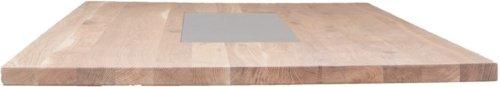 På billedet ser du variationen Nova, Bordplade med keramikplade, Egetræ fra brandet House of Sander i en størrelse H: 4 cm. B: 240 cm. L: 103 cm. i farven Mørk