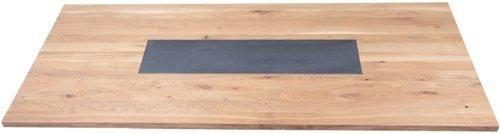 På billedet ser du variationen Nova, Keramisk plade til Brick Table fra brandet House of Sander i en størrelse B: 120 cm. L: 30 cm. i farven Mørkegrå