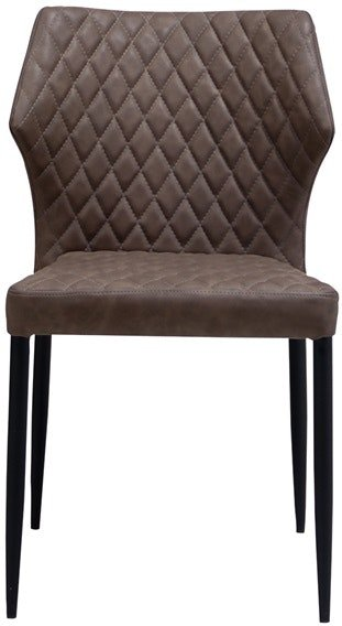 På billedet ser du variationen Ydun, Spisebordsstol, PU læder fra brandet House of Sander i en størrelse H: 83 cm. B: 50 cm. L: 50 cm. i farven Brun