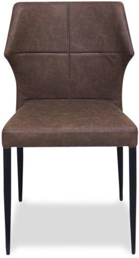 På billedet ser du variationen Runa, Spisebordsstol, PU læder fra brandet House of Sander i en størrelse H: 83 cm. B: 50 cm. L: 50 cm. i farven Brun