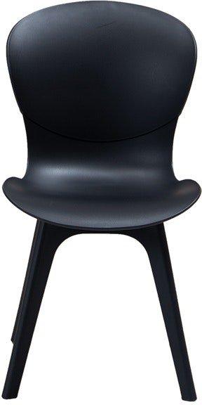 På billedet ser du variationen Njord, Spisebordsstol, Plastik fra brandet House of Sander i en størrelse H: 84 cm. B: 44 cm. L: 56,5 cm. i farven Sort