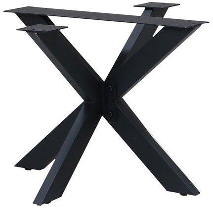 På billedet ser du variationen Opus, Bordben til sofabord, Stjernestel fra brandet House of Sander i en størrelse H: 45 cm. B: 60 cm. L: 60 cm. i farven Sort