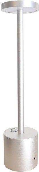 På billedet ser du variationen Carrie, LED Lampe til udendørsbrug fra brandet House of Sander i en størrelse H: 34 cm. B: 8 cm. i farven Sølv