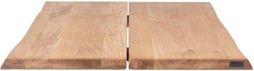På billedet ser du variationen Hugin, Bordplade til sofa- eller cafebord, Egetræ fra brandet House of Sander i en størrelse H: 4 cm. B: 80 cm. L: 80 cm. i farven Natur