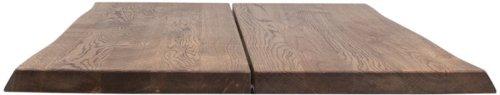 På billedet ser du variationen Hugin, Bordplade til sofa- eller cafebord, Egetræ fra brandet House of Sander i en størrelse H: 4 cm. B: 80 cm. L: 80 cm. i farven Mørk