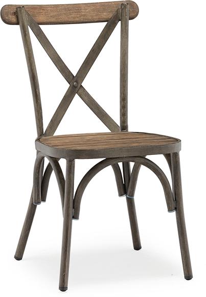 På billedet ser du Belleze, Cafe stol, Egetræ fra brandet House of Sander i en størrelse H: 85 cm. B: 56 cm. L: 51 cm. i farven Brun