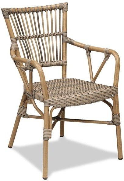 På billedet ser du variationen Aaron, Spisebordsstol, Aluminium fra brandet House of Sander i en størrelse H: 83 cm. B: 57 cm. L: 54 cm. i farven Natur